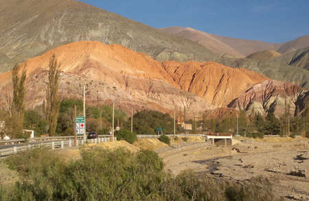 colores: Hill of 7 colors, Jujuy, Argentina