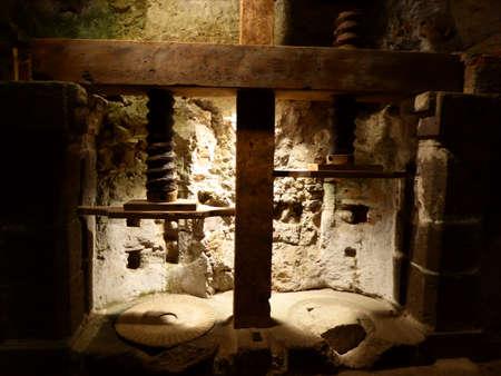 orvieto: Orvieto s Cuevas Foto de archivo