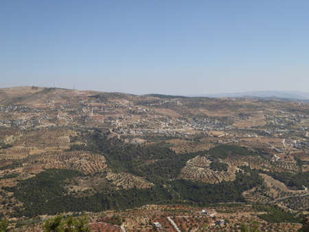 mongols: View from the Castle of Ajloun, Jordan