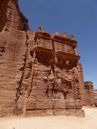 petra  jordan: Royal Tombs, Petra, Jordan