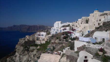 firostefani: View of Caldera and Aegean sea, Oia, Santorini