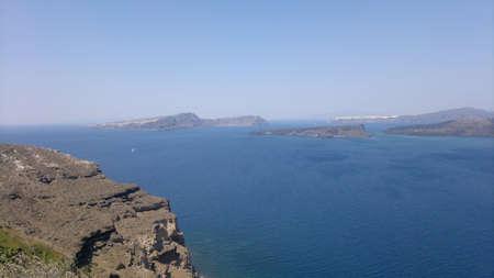 santorini island: Caldera view, Santorini island, Greece