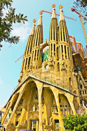 Sagrada Familia Stock Photo - 10354391