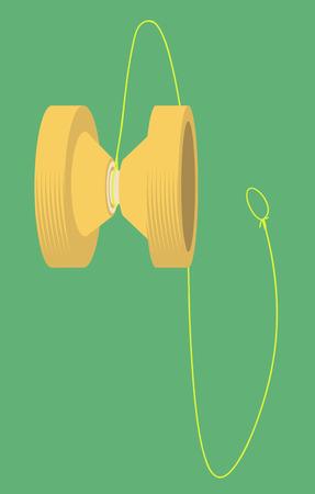Yo-yo. illustration vectorielle Banque d'images - 80490120