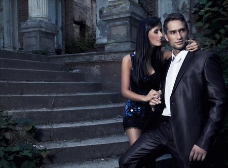 photo d'un jeune couple attrayant Banque d'images