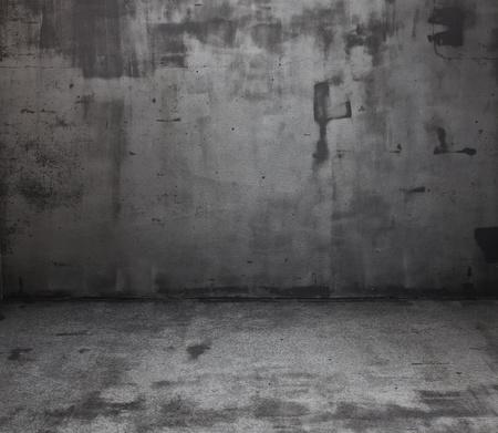 Salle grunge fonc�. Contexte num�rique pour les photographes de studio. Banque d'images