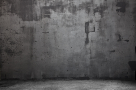 cemento: Sala Grunge Oscuro. De fondo digital para fot�grafos de estudio.