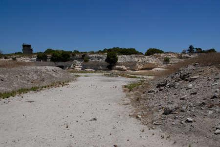 robben island: Limestone Quarry, Robben Island, South Africa