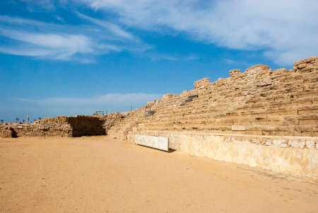 hippodrome: Roman hippodrome,  Caesarea, Israel