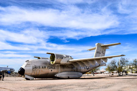 pima: Tucson, Arizona, USA - December 27, 2016: Boeing YC-14