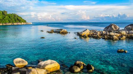 Paradise at Perhentian Island Pulau Besar, Malaysia Stock Photo