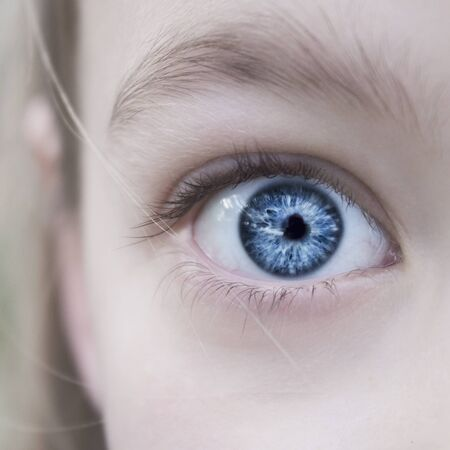 girls eye photo