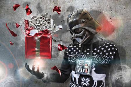jumpers: Darth Vader at Christmas