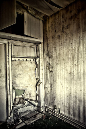 abandoned room: abandoned room