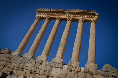 jupiter: Temple of Jupiter, Balbeck in Lebanon