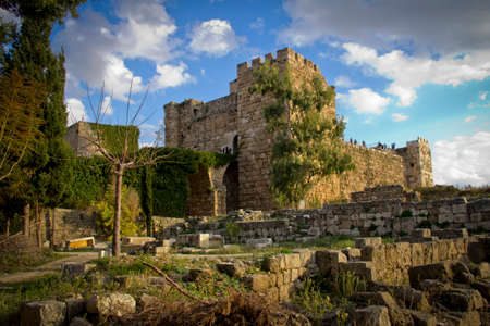 beirut lebanon: Crusader Fort at Byblos, Beirut Lebanon