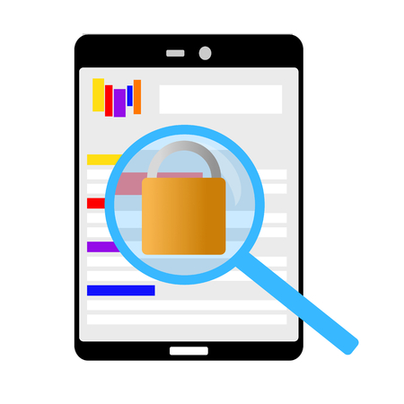 check if this homepage is also safe against hackers Reklamní fotografie - 102634845
