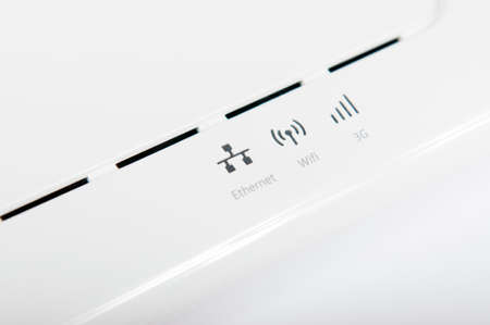 adsl: Indicators of a white adsl router