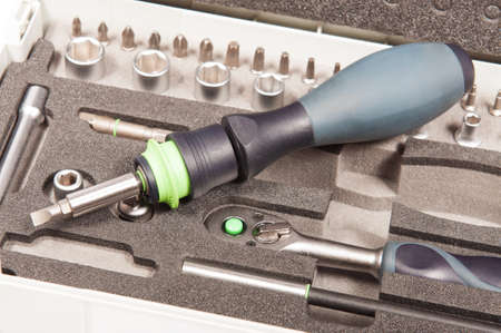 tool kit: Tool kit with screwdriver and hex wrench