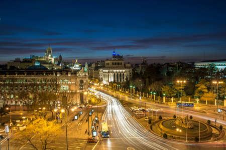 cibeles: Cibeles Madrid Night