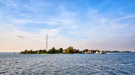 Small island near Schaprode in the Baltic Sea. Mecklenburg-Vorpommern, Germany
