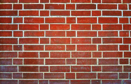 New Dark Red Brick Wall Background.