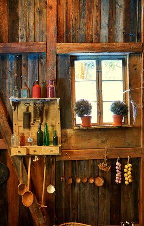 Vintage still life with kitchen utensils. Фото со стока