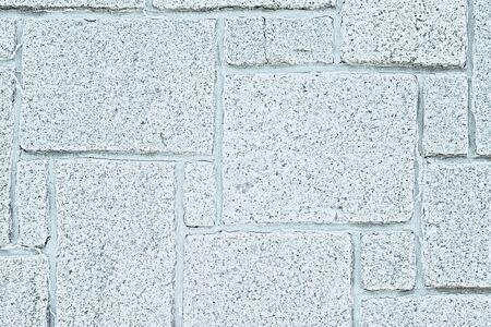 White background of paving stones. Irregular natural stones.