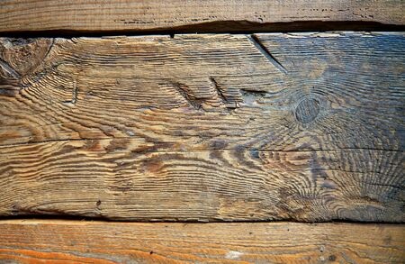 Wooden background with strong cracks.