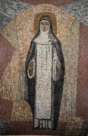 Mosaic of Santa Rosa de Lima, Lima.