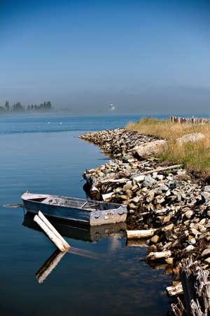 nova scotia: Boat in Nova Scotia