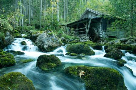 berchtesgaden: Old Mill in Berchtesgaden, Bavaria