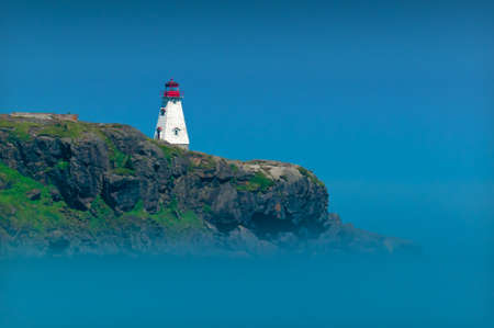 Lighthouse in Nova Scotia Stock Photo - 48424310
