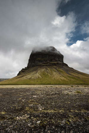 masiv: Mountain in Iceland.