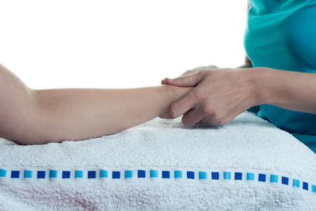 osteopathy: Osteopathy at the arms - isolated exercises