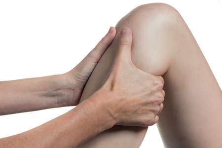 terapia ocupacional: Occupational therapy close-up knee