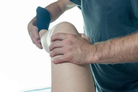 terapia ocupacional: terapia ocupacional en primer plano las rodillas y las piernas diferentes ejercicios