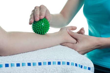 Osteopatía en los brazos - aisladas ejercicios