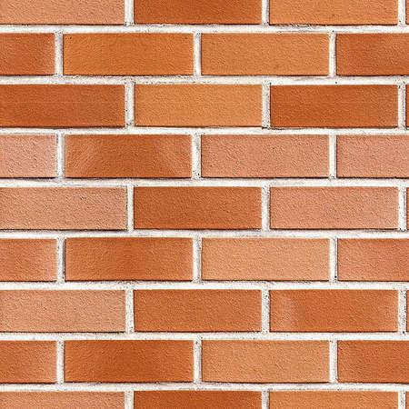 background wallpaper brick material orange. Standard-Bild