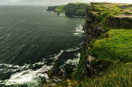 Cliffs of Moher. Standard-Bild