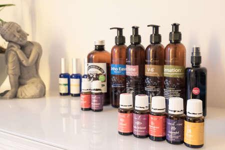 massage olie spa wellness behandeling.