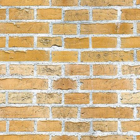 background wallpaper brick material orange. Stock Photo