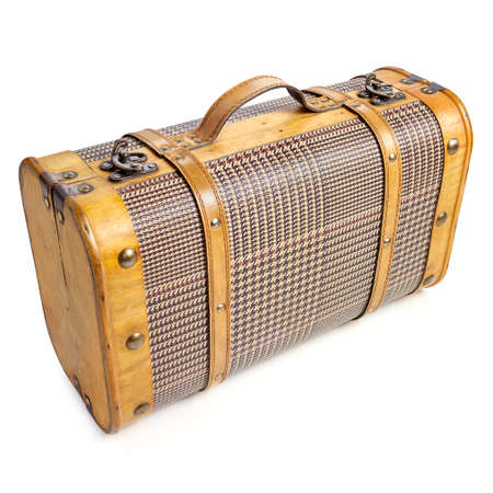 duffel: Classic suitcase   Belle Epoque  style Clipping path