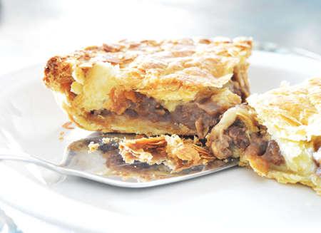 meat pie: Slice Of Meat Pie