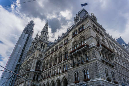 The historic centre of Vienna is rich in beautiful architecture