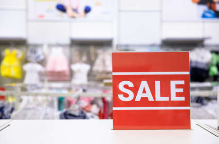 sale shopping season for discount display