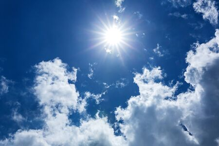 ozone layer: Sunlight