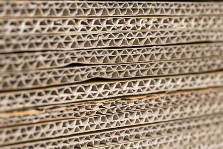 karton: Stack of Corrugated Cardboard Background