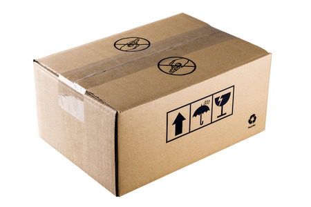 packing box Zdjęcie Seryjne