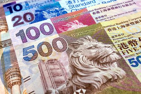 Hong Kong Dollars Zdjęcie Seryjne